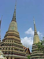 Thai temples and monasteries, Wat Pho, Bangkok